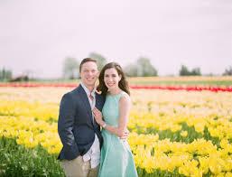 david and sofia u0027s sweet proposal in a tulip field