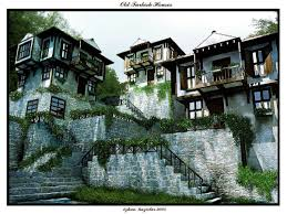 old turkish houses by ozhan on deviantart