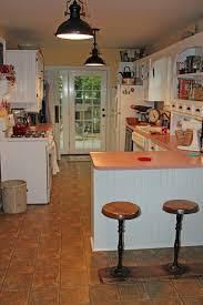 kitchen lighting fixtures for cone antique nickel mid century