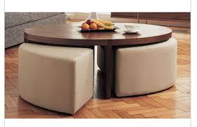 mid century th brown coffee table stools retro vintage teak fondue