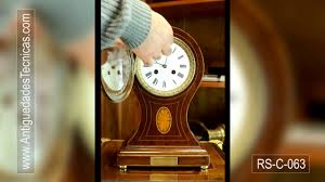 Antique Mantel Clocks Value Antique Mantel Clock Chiming The Hours And The Halves France
