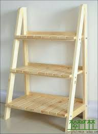 Leaning Shelves Woodworking Plans by