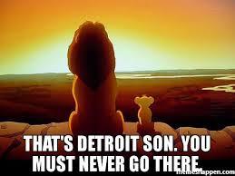 Detroit Meme - that s detroit son you must never go there meme lion king