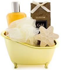 bath gift sets brubaker bath gift set vanilla with bathtub