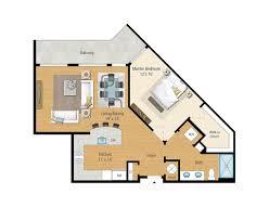1 2 and 3 bedroom floor plans aqua on the levee