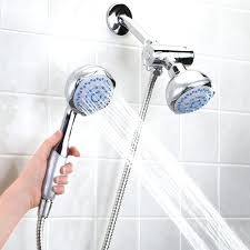 handicap shower heads waterfall head bathroom contemporary with
