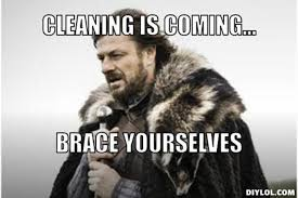 Clean All The Things Meme Generator - 8367de935468c6ab291737fe9d654f6c