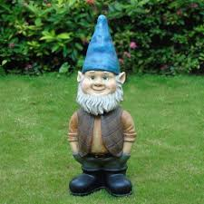 Garden Nome by 3ft Bobble Head Gnome Walmart Com