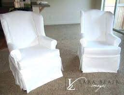 slipcover wing chair grey wing chair slipcover sure fit slipcovers stretch vintage