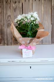 bloom where you u0027re planted housewarming gift idea