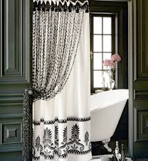 curtain ideas for bathrooms the modern designer shower curtains atnconsulting com