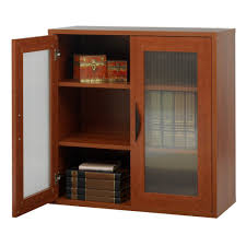 amazon com storage bookcase with doors 30 in high kitchen