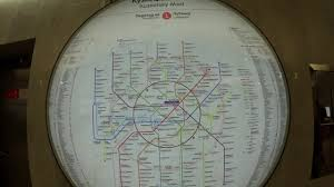 Moscow Metro Map by Moscow Metro Map Youtube