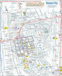 map of hat yai hat yai thailand pictures and and news citiestips