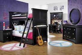 Bunk Bed With Dresser Holland House Petite Louis 2 Black Twin Bunk Bed With Ladder