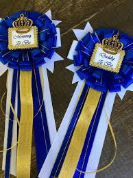 prince baby shower royal blue set prince baby shower to be pin and