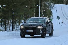2018 volvo xc60 spied cold weather testing flaunts thor u0027s hammer