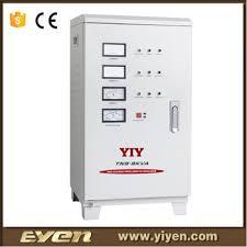 tns voltage stabilizer 220v ac 9kva three phase variac automatic