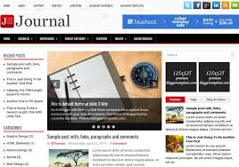 journal responsive blogger template u2022 blogspot templates 2018