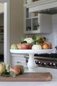 Kitchen Apples Home Decor Warm U0026 Cozy Fall Decor Autumn U0027s In The Air Fall Home Tour