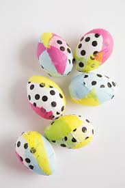 paper easter eggs and loisdiy tissue paper easter eggs and lois