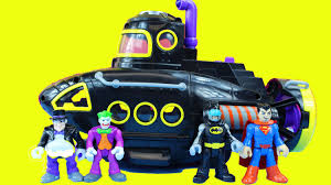 batman imaginext villain vehicle penguin submarine joker