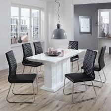 Esszimmertisch Set Esstisch Stühle Modern Weiß Mxpweb Com