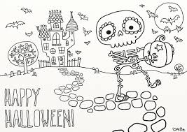 100 easy halloween coloring pages printable halloween