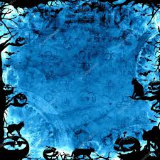 blue halloween background spooky blue halloween background u2014 stock photo pixeldreams 54292145