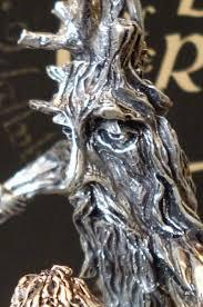treebeard pewter sculpture