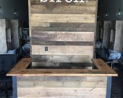 Plywood Reception Desk Reception Desk Etsy