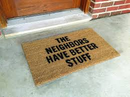 funny front door mats home design inspirations