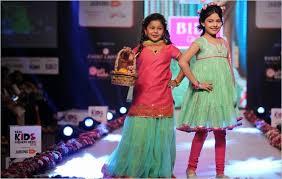 india biba debuts ss15 biba girls at india kids fashion week