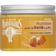 beurre de cuisine cheveux le petit marseillais masque soin au beurre de karité et au miel