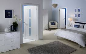 plain white bedroom door with plain slab kitchen cabinet doors car plain white bedroom door with palermo white solid doors in room setting