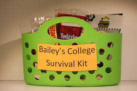 high school graduation gift ideas for college survival kit graduation gift s food