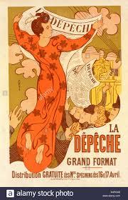 bureau poste toulouse poster for la dépêche de toulouse denis maurice 1870 1943