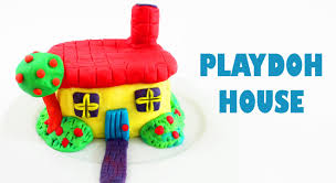 how to make a playdoh house kids crafts simplekidscrafts youtube