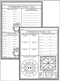 mrs c u0027s classroom multiplication facts unit bundle 0 12