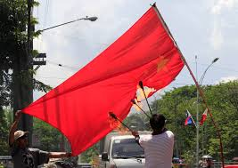 Image Chinese Flag Asian Nations Fear War With China As Territorial Disputes Heat Up