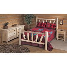 Log Bedroom Furniture Rustic Log Beds Queen Kits Cheap Furniture Cedar Twig Bedroom Set