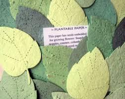 plantable seed paper 50 plantable seed paper bookmarks memorial funeral favors