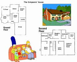 simpsons house floor plan simpsons house floor plan fresh the simpsons 101 your guide to