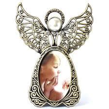 angel wings cheap photo frame metal 3 inch retro wedding baby