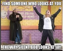 Jay And Silent Bob Meme - jay and silent bob looking t shirt