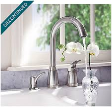 price pfister contempra kitchen faucet stainless steel contempra 1 handle kitchen faucet t526 5ss