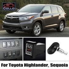 tpms for toyota highlander kluger sequoia tire pressure
