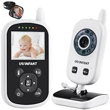 babyphone f r 2 kinderzimmer babyphone babyfon mit kamera gegensprechfunktion schlaflieder