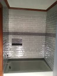 shower tile accent strips shower accent tile height accent tile