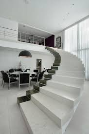 black and white interiors architecture inspiring handrails for stairs for beautiful stairs